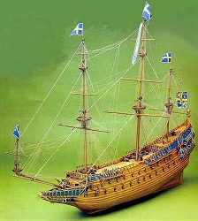 Mantua Model Wasa Man of War Scale 1:60
