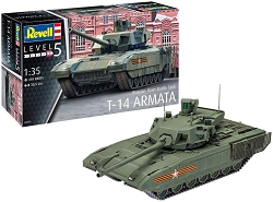 Revell of Germany Russian Main Battle Tank T-14 AR 1:35 Scale