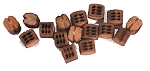 Model Shipways Beautiful Blocks 3 Sheave 5.0 mm Wood Block 20 Pack