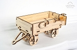 Ugears - Trailer For The Tractor - Laser Cut Wood - 68 Parts