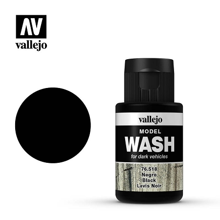 Vallejo Model Wash Black 1.18 oz