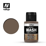 Vallejo Model Wash Oiled Earth 1.18 oz