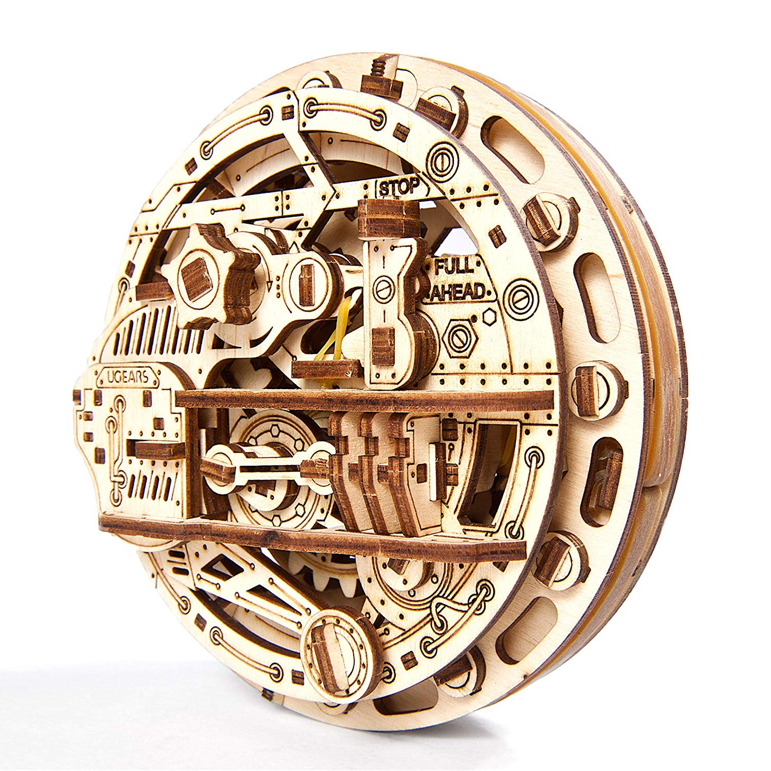 Ugears Monowheel 3D Mechanical Wooden Model Kit