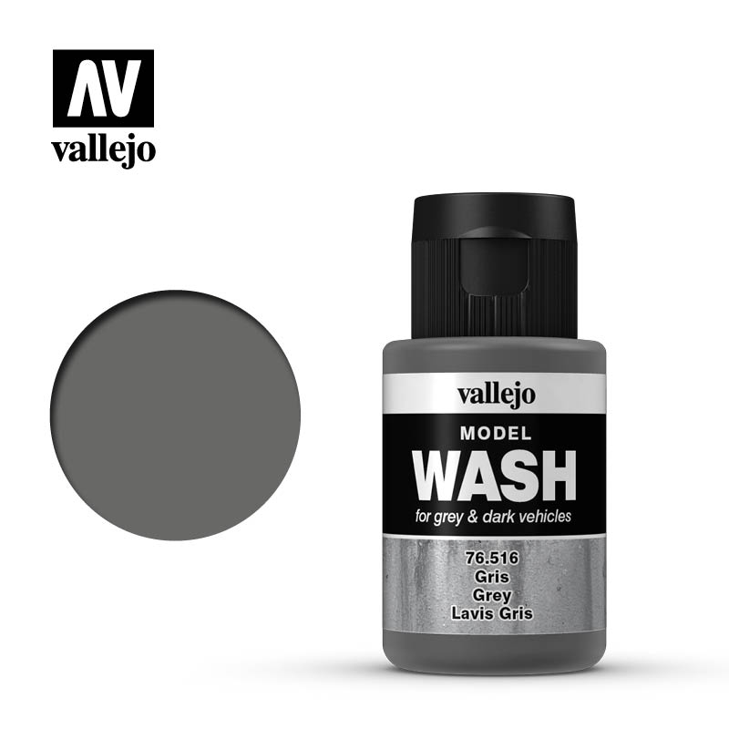 Vallejo Model Wash@Paint Sale Grey 1.18 oz