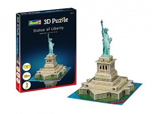 Revell of Germany Statue of Liberty Mini 3D Puzzle
