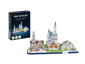 Revell of Germany Bavarian Skyline 3D Puzzle