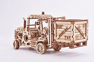 Wood Trick Forklift - Laser Cut Plywood Kit