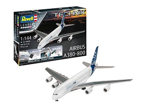 Revell of Germany Airbus A380-800 Technik with Electronics and Sound 1:144 Scale
