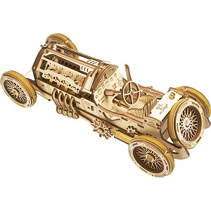 Ugears - U-9 Grand Prix Car - Laser Cut Wood - 356 Parts