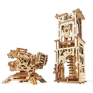 Ugears - Archballista-Tower - Laser Cut Wood - 292 Parts