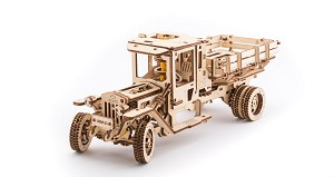 "Ugears - Truck ""UGM-11"" - Laser Cut Wood - 420 Parts"