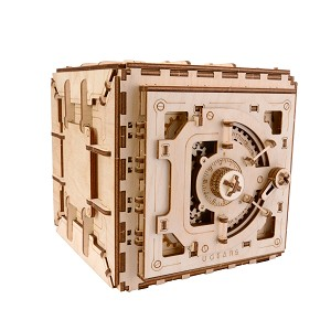 Ugears - Safe - Laser Cut Wood - 179 Parts