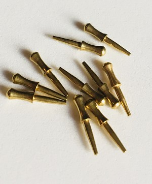 "BELAYING PIN,  Brass 15/32"" (12mm) 20/pack"