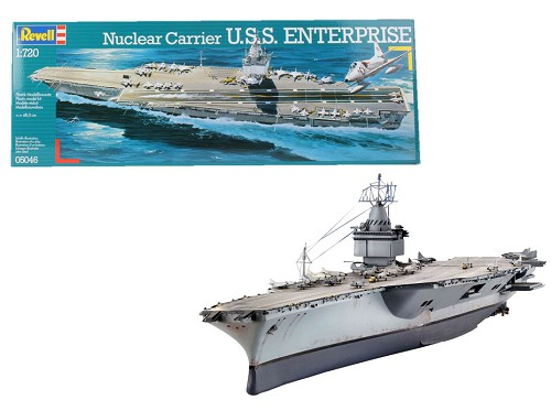 Revell of Germany USS Enterprise Aircraft Carrier 1:720 Scale