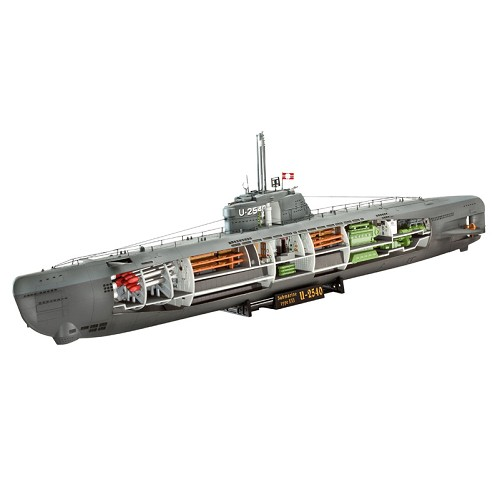 Revell of Germany U-Boat XXI Type with Interior 1:144 Scale