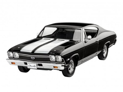 Revell of Germany 1968 Chevy Chevelle SS 396 1:25 Scale