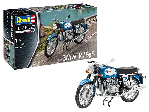 BMW R75/5 Motorcycle 1:8 Scale