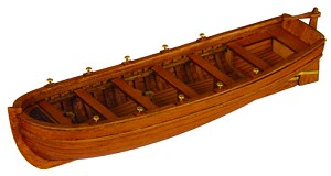 "Master Korabel - MK0101 3-3/4"" Lifeboat - Wood Ship Model Kit Scale 1:72"