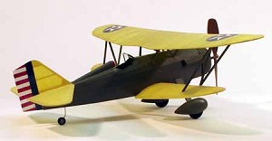"DUMAS Curtiss P-6E Hawk  17-1/2""  Airplane Kit"