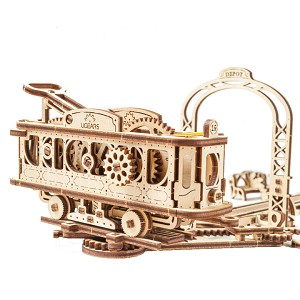 Ugears - MT Tram Line- Laser Cut Wood - 284 Parts