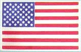 "Mantua Model 37444 Cloth U.S. Flag - 50 Stars & 13 Stripes - 20 x 40 MM (0.8 x 1.2"")"