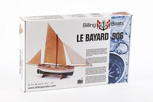 Billing Boats Le Bayard 1:30 Scale Wooden Hull