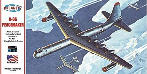 Atlantis Models B-36 Peacemaker with Swivel Stand 1/184 Scale