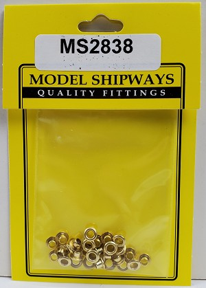 Model Shipways Brass Airports 3mm 24 pack