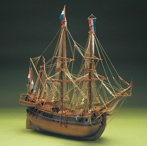 Mantua Model 790 Dutch Whaler Balaneira Olandese 1:60 Scale