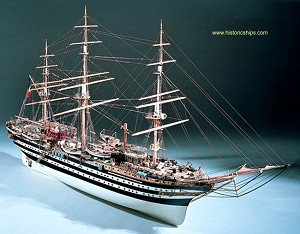 Mantua 741 Amerigo Vespucci Kit - Scale 1:84