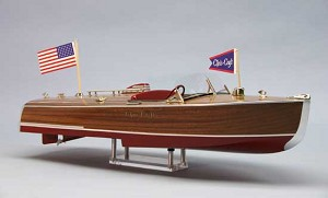 Dumas #1254 1941 CHRIS-CRAFT 16' HYDROPLANE MODEL BOAT KIT SCALE 1/8