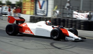 Tameo Kit CPK004 McLaren MP4/1C Ford - 1983 U.S.A. West Grand Prix - White Metal Car Kit - Scale 1:43, Made in Italy