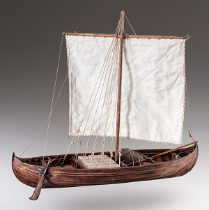 Dusek Viking Knarr Model Ship Kit D007 – Scale 1:35