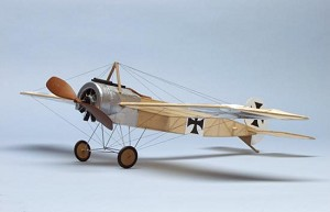 "DUMAS Fokker E.Iii Eindecker 17-1/2"" Airplane Kit"