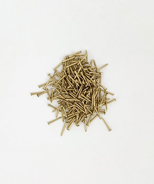"Model Shipways NAILS, Brass .028 x 1/2"" (.71 x 12mm) 200 pack"