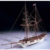 "Mantua Model 771 Albatros (New-Revised) - Wooden Plank - On - Frame KitScale 1:6033"" Long"