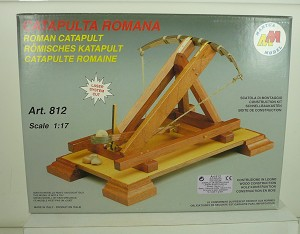 Mantua 812 Roman Catapult - All Wood & Metal Kit  1:17 Scale Kit