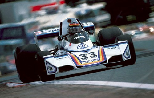 Tameo SLK058 Brabham BT44B Ford Cosworth - 1976 - White Metal Car Kit - Scale 1:43, Made in Italy