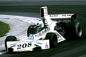 Tameo SLK094 Brabham BT-42/3 Ford Cosworth - 1974 British G.P. - White Metal Car Kit - Scale 1:43, Made in Italy