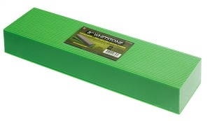 "8"" Silicone Carbide Double Sided WhetStone, Grit 180 & 240"
