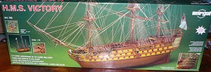Mantua/Sergal  782 HMS-Victory 1:78 Scale Plank-On-Frame Wood Ship Model Kit
