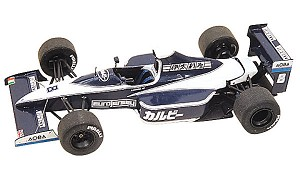 Tameo TMK122 Brabham BT-59 Judd - 1990 - White Metal Car Kit - Scale 1:43, Made in Italy
