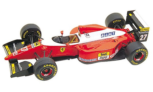 Tameo TMK169 Ferrari F-93A - 1993 - White Metal Car Kit - Scale 1:43, Made in Italy