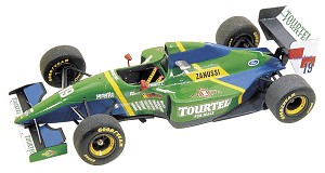 Tameo TMK186 Larrousse Lh-79 Ford - 1994 - White Metal Car Kit - Scale 1:43, Made in Italy
