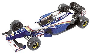 Tameo TMK209 Williams FW-17b Renault - 1995 - White Metal Car Kit - Scale 1:43, Made in Italy