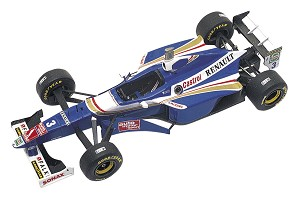 Tameo TMK251 Williams FW-19 Renault - 1997 - White Metal Car Kit - Scale 1:43, Made in Italy