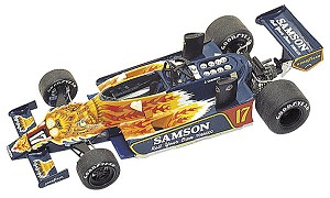 Tameo TMK272 Shadow DN-9b Ford Cosworth - 1979 - White Metal Car Kit - Scale 1:43, Made in Italy