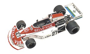 Tameo TMK274 March 761 Williams Ford - 1977 - White Metal Car Kit - Scale 1:43, Made in Italy