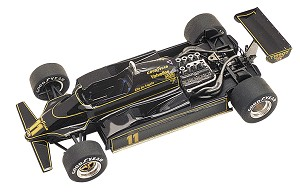 Tameo TMK287 Lotus 91 Ford Cosworth - 1982 - White Metal Car Kit - Scale 1:43, Made in Italy