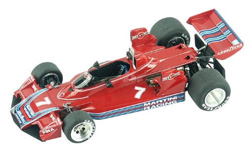 Tameo TMK307 Brabham BT-45 Alfa Romeo - 1976- White Metal Car Kit - Scale 1:43, Made in Italy
